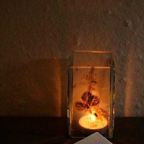 Light and dark -no.005 ハマササゲキャンドル